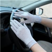 户外运动手套 冷感舒适冰丝手套 生产加工 弹力冰丝手套 防晒女士手套