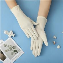 夏季防晒棉质手套 透气遮挡紫外线 舒适骑行户外运动手套 支持定制