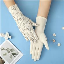 按需供应 夏季纯色冰丝手套 户外运动手套 防滑户外手套
