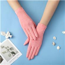 夏季纯色冰丝手套 防晒冰丝手套 户外运动手套 冰丝手套
