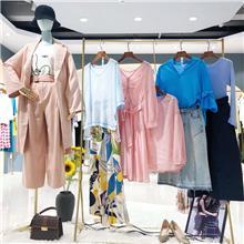2021秋季女装大码连衣裙 韩版女装尾货批发厂家直销  女装便宜批发