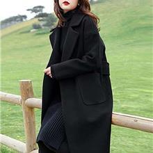 双面呢大衣 双面呢羊毛大衣 羊绒大衣 羊毛大衣 走份批发 冬装批发都选久玖服饰