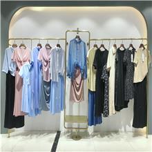 广州一线大码女装 白马服装批发市场 专柜撤柜女装库存清仓