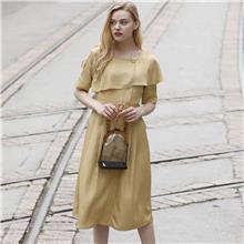 中老年新款女装连衣裙 十三行女装批发市场  大码女装  中年女装
