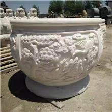 仿古民间工艺品 大型浮雕画 青石荷花缸销售报价