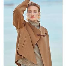 冰雪奇缘 冬季 双面羊绒大衣 服装厂批发 中老年女装批发 价服装批发货源