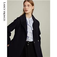 双面羊绒大衣 中老年女装优选久玖 女装中老年新款秋季外套上衣