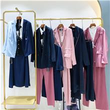 韩版女装棉衣尾货处理 新款棉服批发 中长外套女装尾货批发