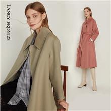 中老年羊绒大衣 冬季双面羊绒大衣 厂家直销女装一手货源 中老年风衣