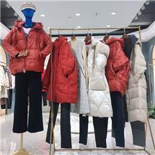 21冬季时尚韩版羽绒服 秋冬季服装货源批发 大码羽绒服女式外套