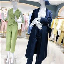 韩版时尚女装棉衣外套  2021秋季新款女装棉服  杭州女装尾货批发市场