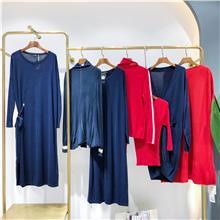 2021秋季女装连衣裙  女装货源连衣裙批发拿货  大码连衣裙批发货源