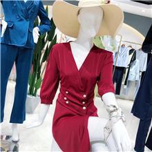 时尚韩版女装中长款棉服  棉衣女装短款加厚 中老年棉衣女中长款