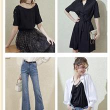 深圳大码女装货源 个性女装 潮流女装 外贸女装 剪标女装