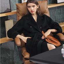 羊绒大衣 中老年服装批发优选久玖服饰 大码外套中老年新款女装