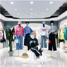 大码女装尾货卫衣货源  女装货源厂家直销  广州女装尾货批发市场