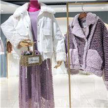 2021冬季大码女装  时尚潮牌女装尾货   广州女装批发市场