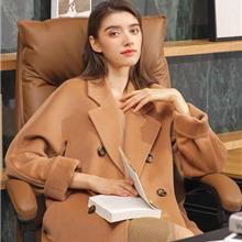 伯妮斯茵女装 2021秋冬新款双面羊绒大衣 中老年冬装外套