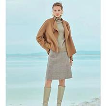 中老年女装秋冬双面羊绒大衣
