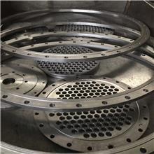 304 316L不锈钢大型筛孔换热器压力容器管板法兰管道配件可定制