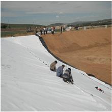 定制加工过滤土工布 高强加筋土工布 公路养护聚酯透水土工布