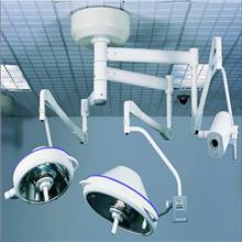 吊式双头无影灯 移动式LED手术灯 整体反射无影灯 市场供应