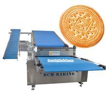 蓟县饼干设备 韧性饼干成型机 2 + 1型夹心饼干机资质齐全