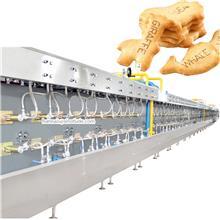 西藏饼干设备 盐糖撒布机 2 + 1型夹心饼干机理想之选