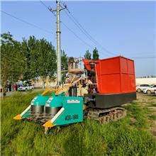 山东农业机械 改装 履带式青储机   转盘式 地滚刀式
