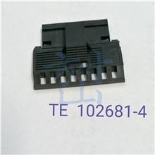 102681-4 TE AMP原装 汽车连接器 工业接插件电源插头塑胶制品