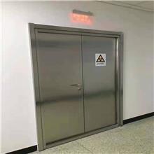 鑫旺荣 口腔CT室放射科辐射防护铅门 手术室电动移门无尘车间门