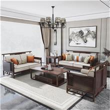 全屋家具新中式沙发套装 全屋2房2厅13件 客厅卧室餐厅套