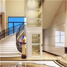 定制安装小型别墅电梯-曳引式多层室内电梯-自建房家用电梯