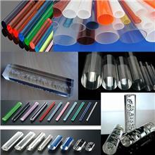 【支持定制】透明亚克力管空心有机玻璃管加工管材白色塑料管灯罩