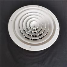 厂家定制 中央空调出风口 双层百叶新风系统 铝合金防雨百叶风口