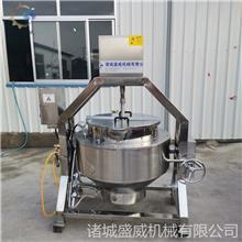 自动出料 方便面酱料搅拌机器 价格合理 香菇酱行星炒制设备