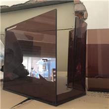 茶色亚克力板红茶黑茶可定做,苏州厂家直销5mm2*3米大板零切雕刻机加工