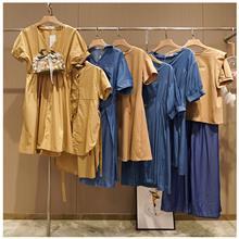 浅色连衣裙 宽松连衣裙 大码连衣裙 欢迎订购