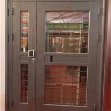 钢制楼宇门-对讲单元门-钢制单元玻璃门-可视对讲门-拼接楼宇门-开窗楼宇门-厂家定制批发