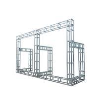 恒誉展览展示供应山西吕梁桁架雷亚架舞台方管桁架圆管桁架铁桁架雷亚架舞台