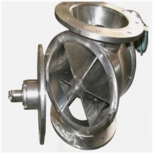 生物质发电除尘器卸灰阀 食品加工食品级不锈钢供料阀 面粉机铸铁小型供料器 德景环保