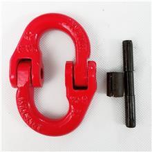 1T-31.5T起重蝴蝶扣 美式链条连接器双环扣 起重吊装合金钢蝴蝶扣
