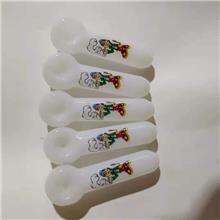 帮诚 玻璃烟具 玻璃工艺品 白色玻璃烟具配件 定制
