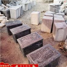 批发供应石头骨灰盒 青石骨灰盒 石雕骨灰盒