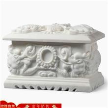 厂家加工定做骨灰盒 石雕精致骨灰盒 骨灰盒价格