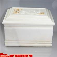 厂家供应青石骨灰盒 石雕骨灰盒 花岗岩骨灰盒