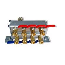 注塑机精密型水排分流器 冷却分水器注塑配件订做冷水排水阀
