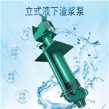 立式液下渣浆泵价格  机械工业水泵 砂砾泵 河北中泰泵业厂家排名 渣浆泵副叶轮