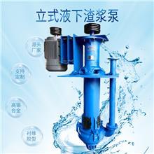立式液下渣浆泵价格  机械工业水泵 砂砾泵 河北中泰泵业厂家排名 渣浆泵