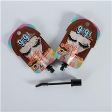 厂家定制化妆品产业使用带刷头睫毛膏包装使用袋